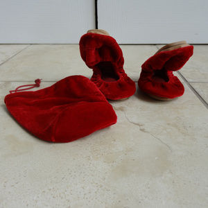 Shoes - Foldable Ballet Flats - Size 8